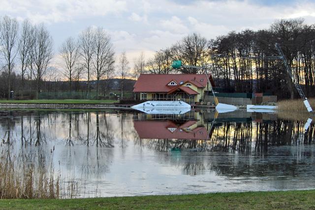 Wasserskianlage auf dem Reitbahnsee in Neubrandenburg