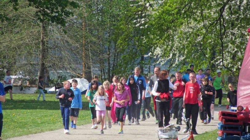 Laufen für den guten Zweck im Neubrandenburger Kulturpark