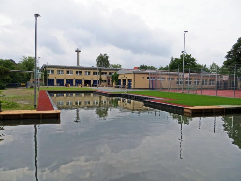 SCN Kanu Rennsport - Neues Einstiegsbecken am Oberbach in Neubrandenburg