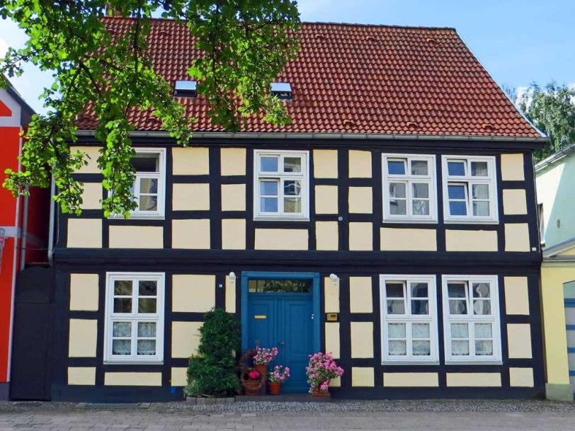 Fachwerkhaus in der Neutorstrasse in Neubrandenburg