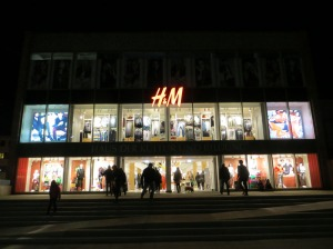 H&M Eröffnung in Neubrandenburg