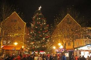 Weberglockenmarkt 2013 in Neubrandenburg - Webertanne