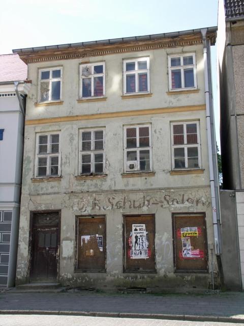 Haus in der Pfaffenstrasse in Neubrandenburg