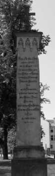 Denkmal Franz Christian Boll in Neubrandenburg