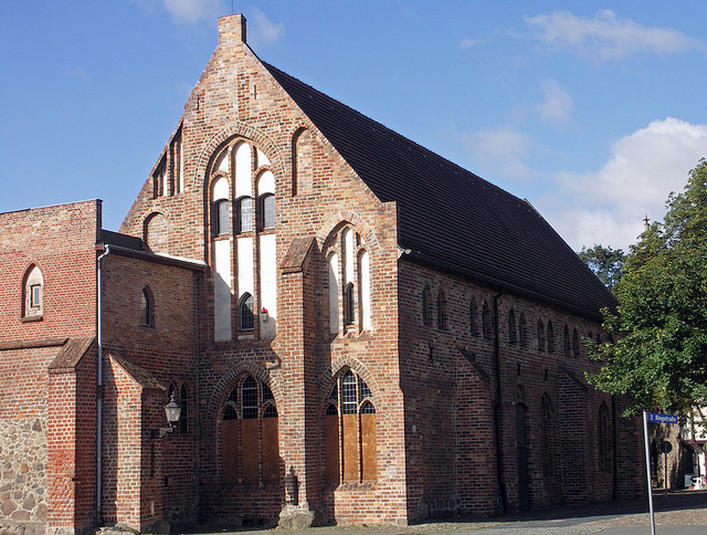 Franziskanerkloster in Neubrandenburg