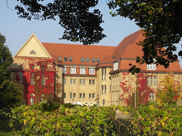 Gymnasium im Kulturpark in Neubrandenburg