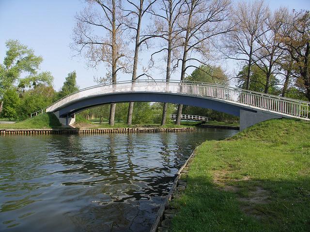 Oberbachbrücke in Neubrandenburg
