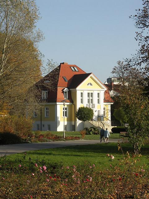 Villa im Kulturpark in Neubrandenburg