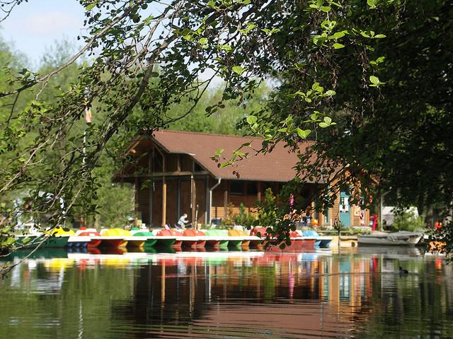 Bootsverleih am Tollensesee in Neubrandenburg