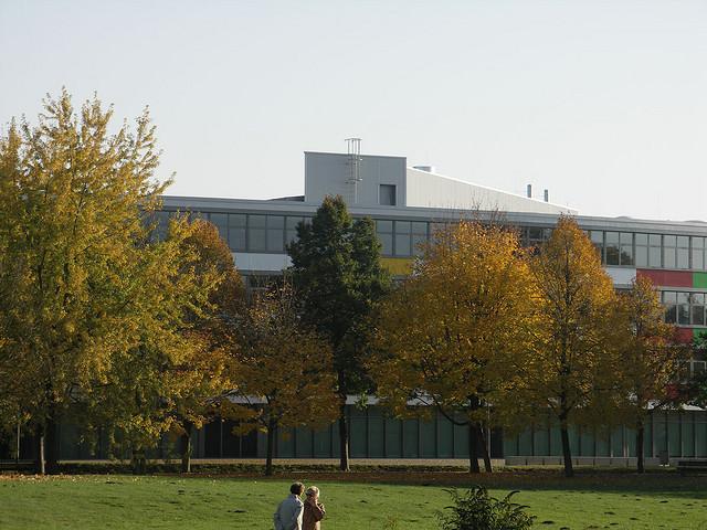 Sportgymnasium im Kulturpark in Neubrandenburg