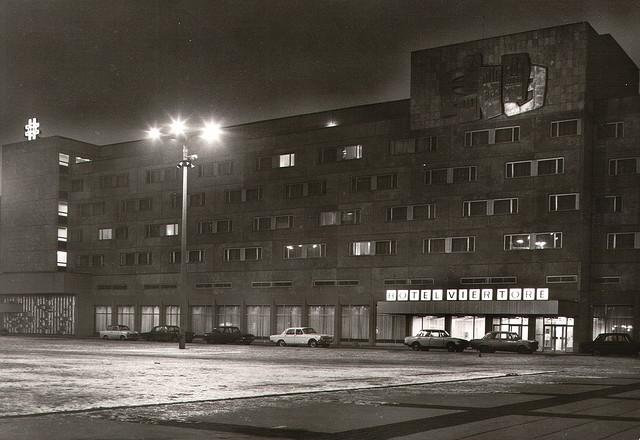 Alte Ansichtskarte Hotel Vier Tore in Neubrandenburg