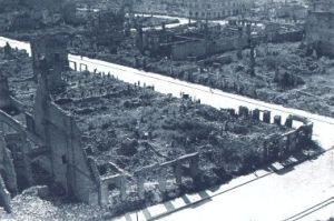 Das zerbombte Neubrandenburg