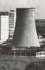 Kühlturm Heizkraftwerk in Neubrandenburg