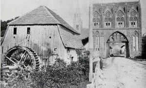 Lohnmühle und Stargarder Tor in Neubrandenburg