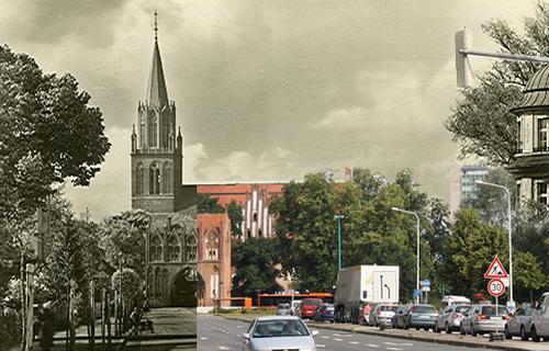 Stargarder Tor und Marienkirche