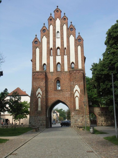 Neues Tor in Neubrandenburg