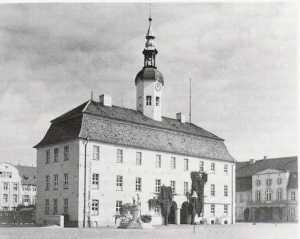 Rathaus in Neubrandenburg 1935