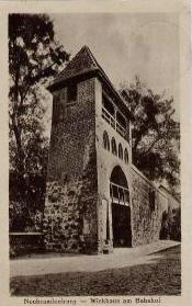 Alte Ansichtskarte Wiekhaus in Neubrandenburg um 1930