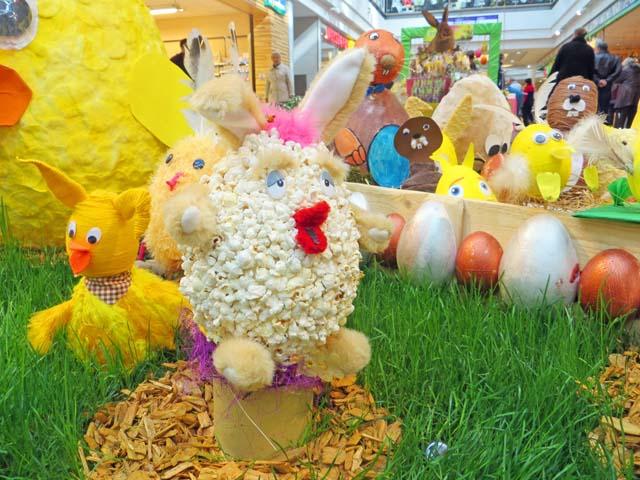 Ostern im Marktplatzcenter in Neubrandenburg
