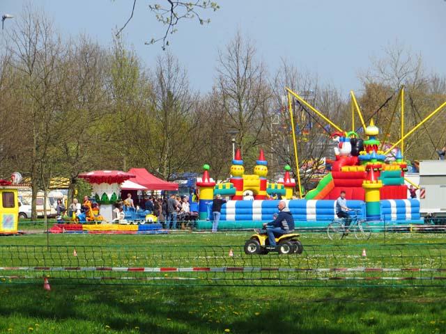 Osterfest im Kulturpark in Neubrandenburg