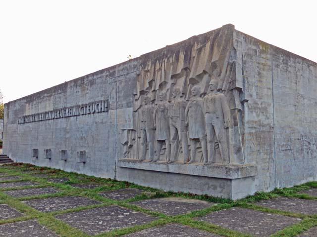 """Gedenkanlage """"Die Unbeugsamen"""" in Neubrandenburg"""