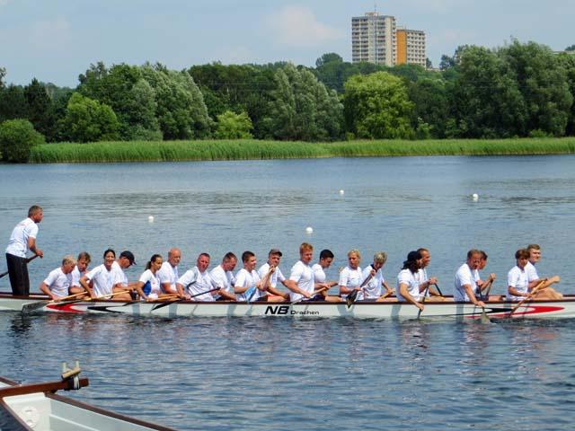 Wassersportspiele 2014 auf dem Reitbahnsee in Neubrandenburg