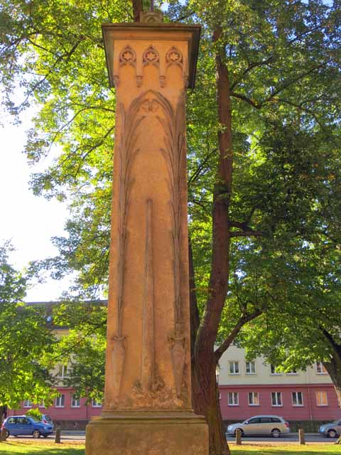 Franz Christian Boll-Denkmal in Neubrandenburg