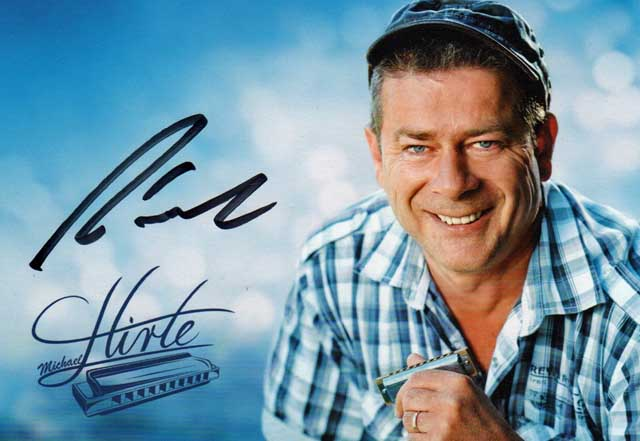 Autogrammkarte Michael Hirte