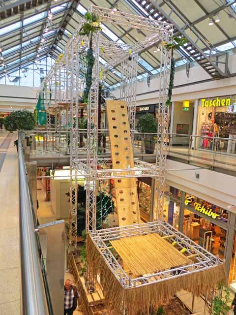 Kletterpark im Marktplatzcenter
