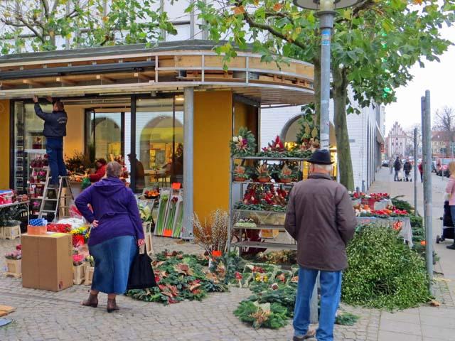 Neuer Pavillon in der Turmstrasse in Neubrandenburg geöffnet