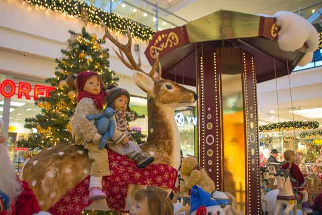 Weihnachten im Marktplatzcenter in Neubrandenburg