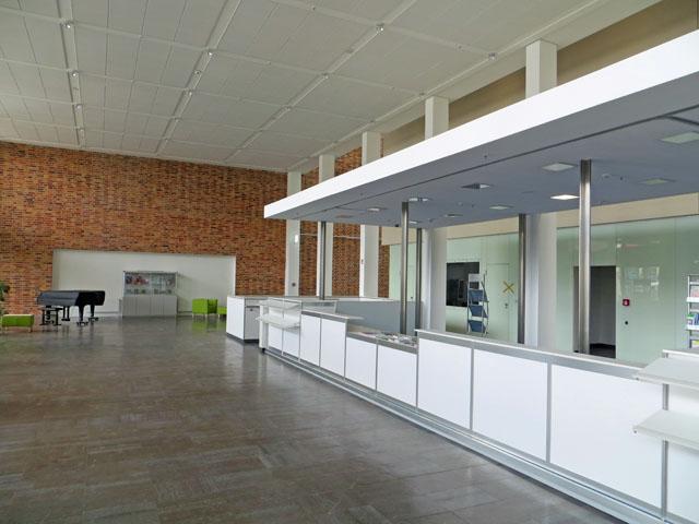 Haus der Kultur und Bildung HKB in Neubrandenburg