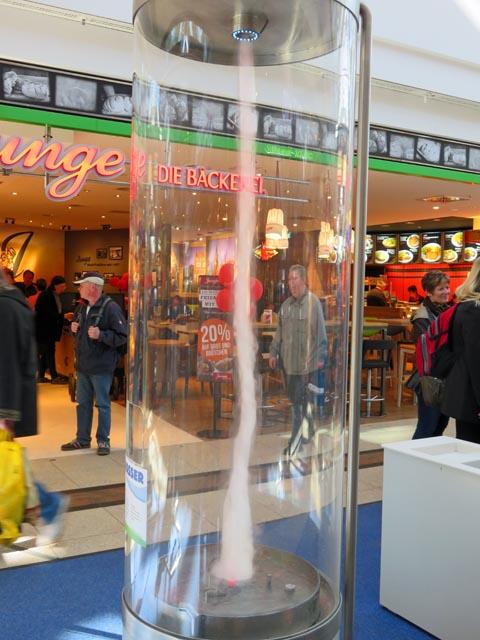 Phänomenta im Marktplatzcenter in Neubrandenburg