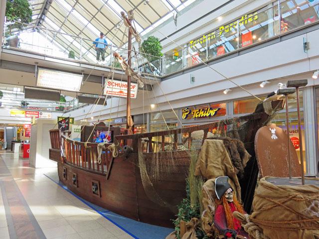 Piratenabenteuer im Marktplatzcenter Neubrandenburg