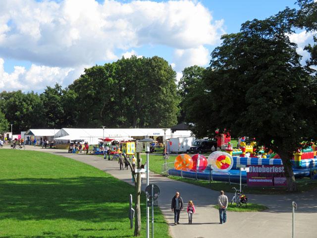 Oktoberfest im Kulturpark in Neubrandenburg